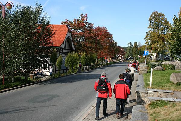 Wanderer in Schierke